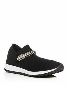 Jimmy Choo Women's Verona Knit Slip-On Sneakers