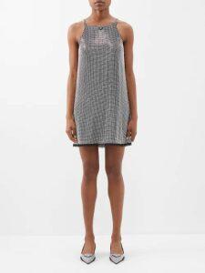 Zeus + Dione - Aelo Silk-blend Jacquard Top - Womens - Navy