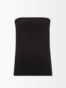 Balenciaga - Oversized Pussy Bow Silk Crepe Blouse - Womens - Black
