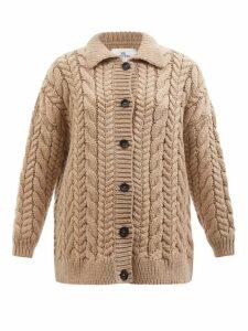 Golden Goose - Floral-print Cotton-poplin Shirt - Womens - White Print
