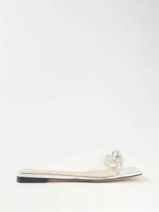 Halpern - Sequinned Roll-neck Top - Womens - Silver
