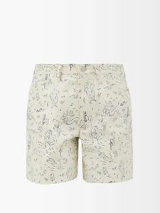 Gabriela Hearst - Andres Cashmere And Silk-blend Wrap Cardigan - Womens - Camel