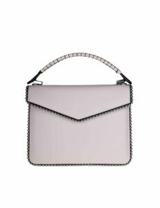 Les Petits Joueurs Pixie Hand Bag In Ivory Color Calf Leather
