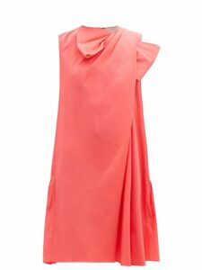 Alexander Mcqueen - Zip Sleeve Wool Sweater - Womens - Navy Multi