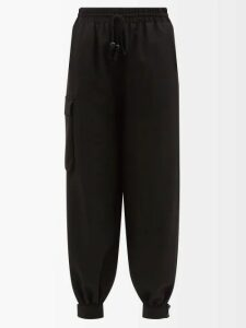 Prada - Logo-appliqué Ribbed-knit Sweater - Womens - Orange