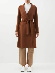 Sies Marjan - Wolf Merino Wool Roll Neck Sweater - Womens - Pink