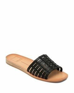 Dolce Vita Women's Colsen Cage Leather Slide Sandals