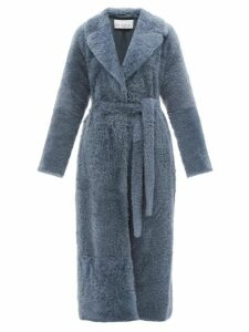 Bella Freud - Britt Roll-neck Cashmere-blend Sweater - Womens - Khaki Multi