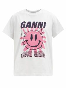 Joostricot - Roll Neck Cotton Blend Sweater - Womens - Light Blue