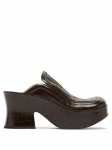 Joostricot - Roll-neck Cotton-blend Sweater - Womens - Navy