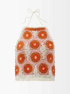 Marni - Contrast-panel Wool Sweater - Womens - Ivory Multi