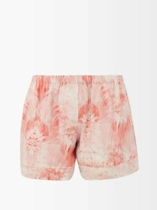 Marni - Contrast Panel Wool Sweater - Womens - Ivory Multi