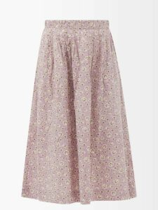 Marni - Roll Neck Ribbed Wool Sweater - Womens - Beige Multi