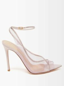 Stella Mccartney - Virgin Wool Roll Neck Sweater - Womens - Blue