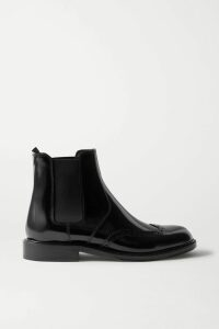 Needle & Thread - Tulle-trimmed Sequin-embellished Georgette Blouse - Baby pink