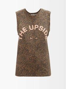 Miu Miu - Cowl-neck Crushed-velvet Dress - Womens - Blue