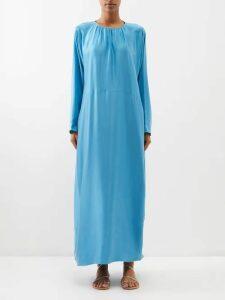 Marine Serre - Appliqué-patch Moire Jacket - Womens - Beige