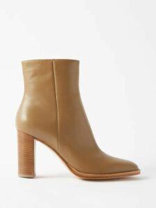 Prada - Ruffle-trimmed Cotton And Silk-chiffon T-shirt - Womens - Red Multi