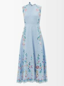 X Karla - The Crew Cotton-blend T-shirt - Womens - Grey