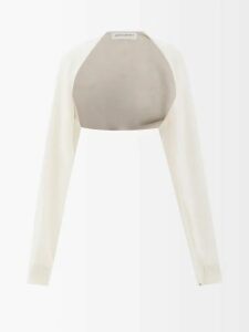 Acne Studios - Eldora Linen T-shirt - Womens - Nude