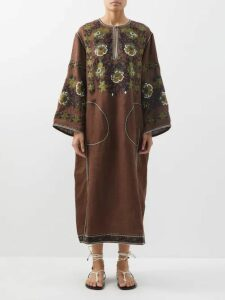 Peter Pilotto - High Rise Striped Shorts - Womens - Pink Multi