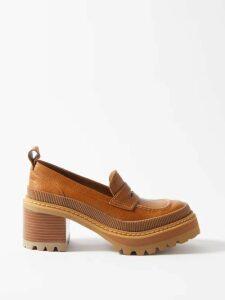 Charles Jeffrey Loverboy - Polka Dot-print Wool Trousers - Womens - Navy Multi
