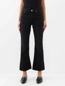Sies Marjan - Tommie Double-breasted Satin Blazer - Womens - White