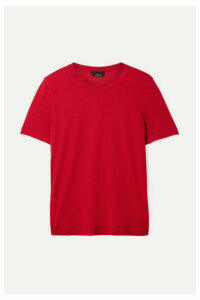 Akris - Cashmere And Silk-blend Top - Red