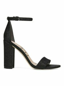 Orient Express Yaro Leather Ankle-Strap Sandals