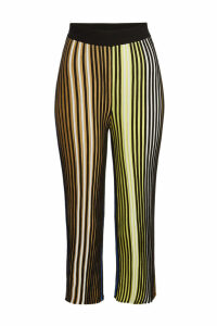 Kenzo Ribbed Pants with Cotton