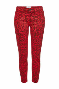 Current/Elliott The Stiletto Printed Skinny Jeans