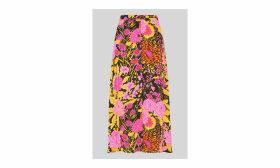 Luella Bloom Print Skirt