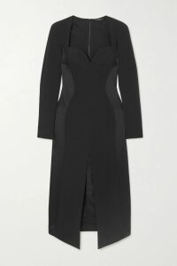 RtA - Rhys Metallic Knitted Sweater - Silver