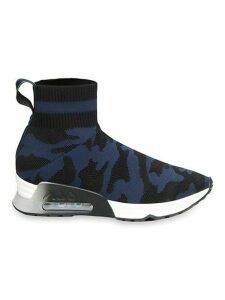 Camo Printed Sock Sneakers