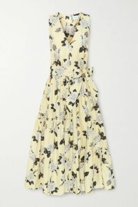 Valentino - Oversized Striped Cotton-poplin Shirt - Blue