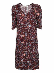 See by Chloé Floral Print Midi Dress