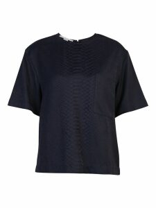 Stella McCartney Snakeskin Print Blouse