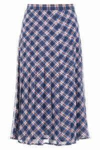 MICHAEL Michael Kors Tartan Skirt