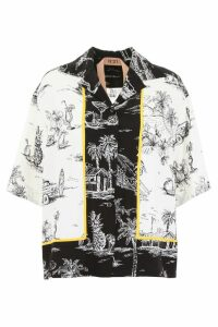 N.21 Printed Bowling Shirt