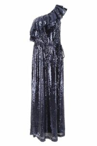 In The Mood For Love One-shoulder Dress With Sequins