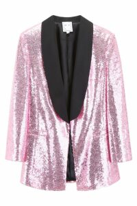 In The Mood For Love Tuxedo Jacket With Sequins