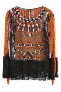 Alberta Ferretti Ethnic Blouse