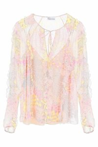 RED Valentino Printed Blouse