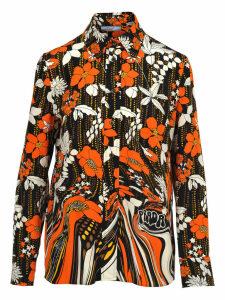 Prada Prada Floral Print Shirt