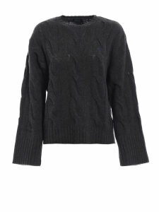 Polo Ralph Lauren Twist Knit Merino Sweater With Wide Sleeves