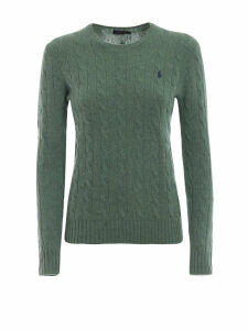 Polo Ralph Lauren Cable Knit Merino And Cashmere Sweater