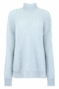 Jil Sander Perforated Turtleneck