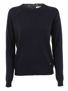 Tory Burch Bow-back Detail Sweater