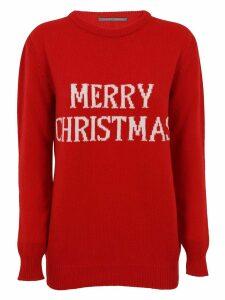 Alberta Ferretti Merry X-mas Sweater