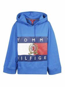 Tommy Hilfiger Crest Appliqué Hoodie